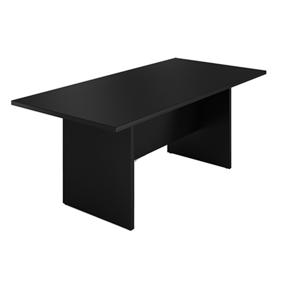 6′ Conference Table - Black