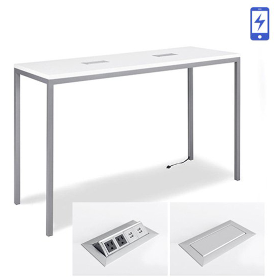 Aspen Bar Table - Charged